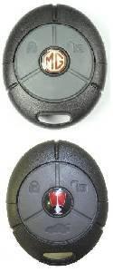 MG Rover Pektron 2 3 Button Remotes