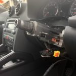 Audi ignition lock removed in Bexley
